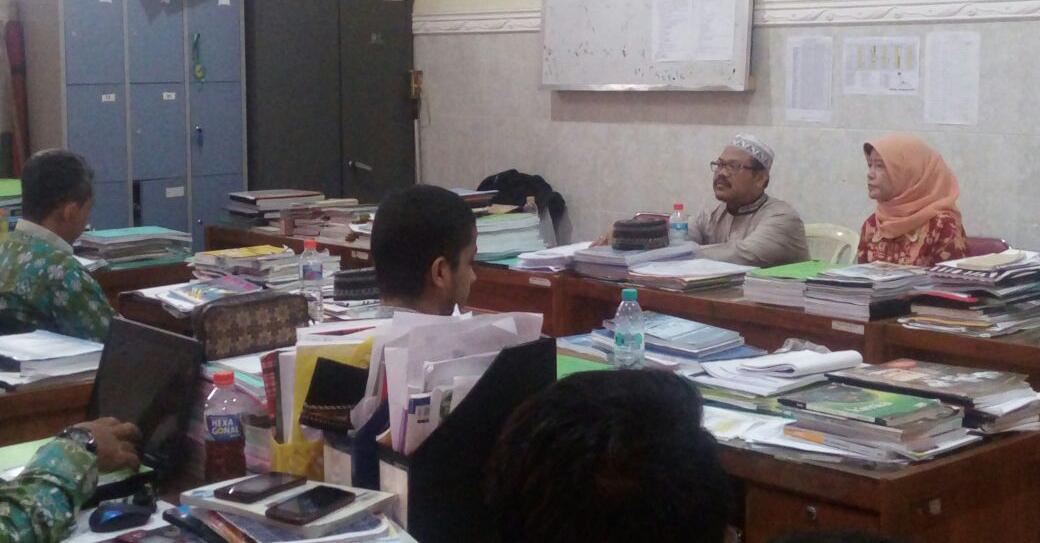 Kunjungan Kepala Cabang Dinas Pendidikan Kab. Pasuruan