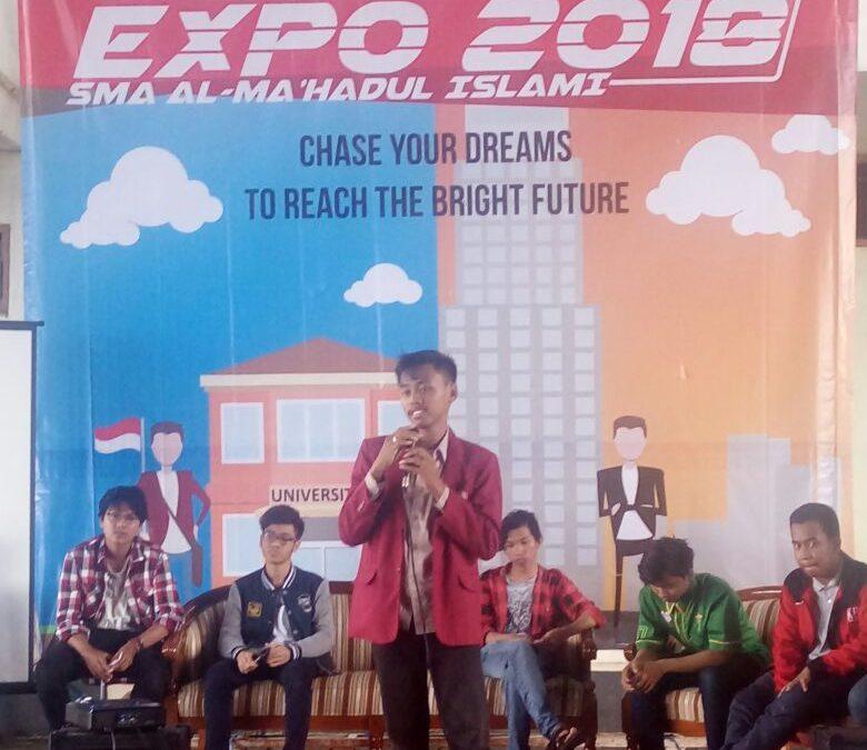 Kegiatan Campus Expo 2018 YAPI Putra