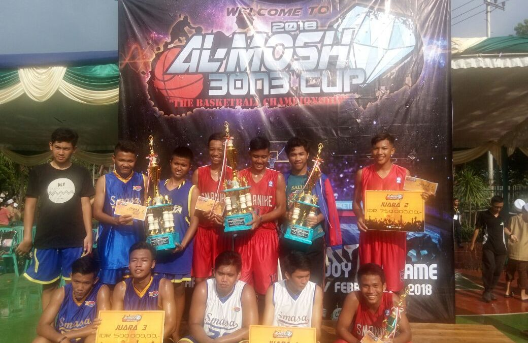 Kompetisi Basket Al Mosh 3 on 3