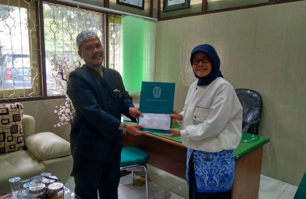 Donasi Siswa-Siswi dan Guru YAPI untuk Keluarga Al-Marhum Bapak Budi