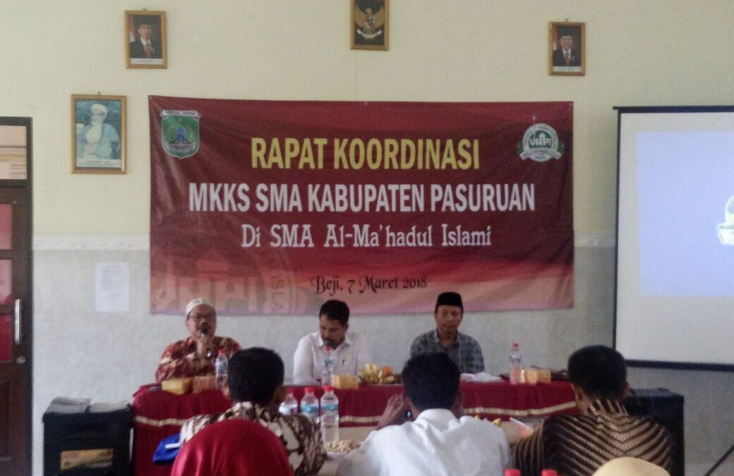 Rapat Koordinasi MKKS SMA di SMA YAPI