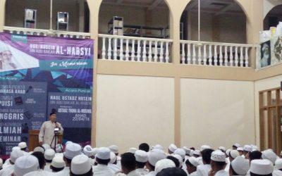 Kajian Biografi tentang Al Marhum Al Ustadz Al Habib Al Allamah Husein bin Abu Bakar Al Habsyi