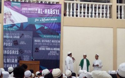 Kajian tentang Al Marhum Al Allamah Al Ustadz Al Habib Husein bin Abu Bakar Al Habsyi