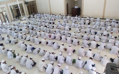 Khutbah dan Sholat Jumat Para Santri Pesantren Al Ma'hadul Islami YAPI Bangil