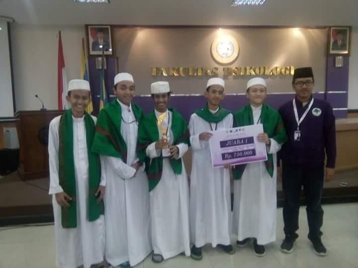 Tim Nasyid Santri SMA YAPI JUARA 1