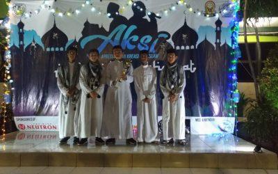 Tim Nasyid SMA YAPI JUARA 1 Lomba Nasyid Se-Jawa Timur